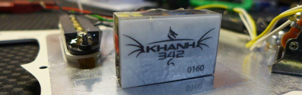 Préamplificateur guitare Khanh 342.