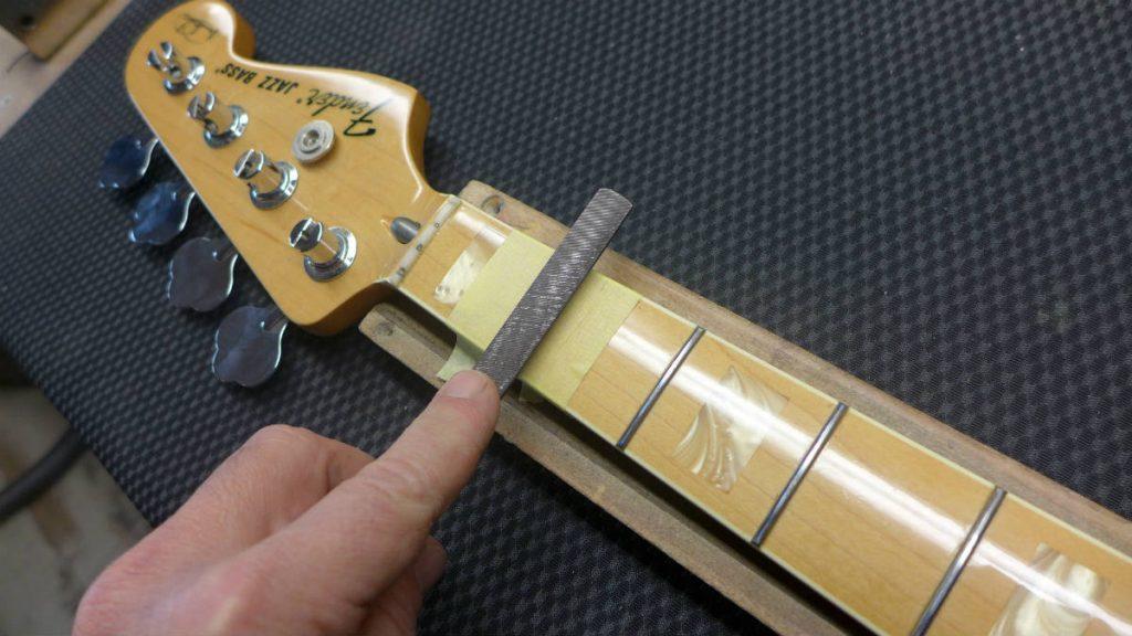 fender Marcus Miller-luthier Ariège