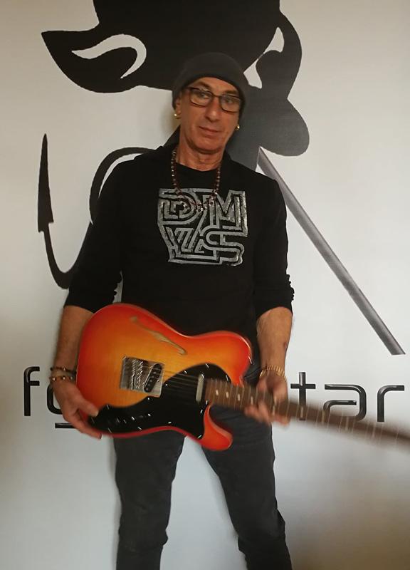 Bernard Margarit-telecaster fgh guitar-luthier ariege-luthier aude