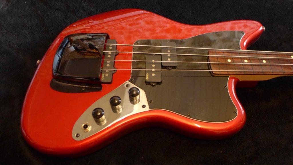Réalisation d'une Fretless sur base Fender