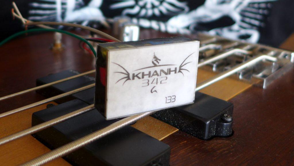 préamplificateur guitare-luthier Ariège-luthier Aude