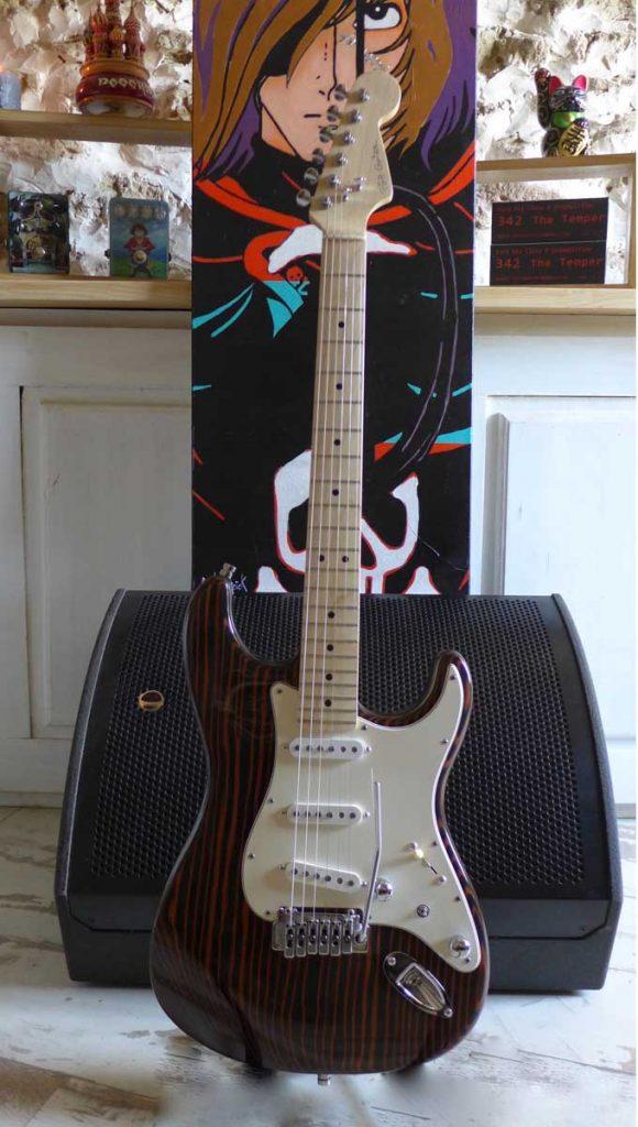 custom guitar-upgrade guitar-luthier Ariège