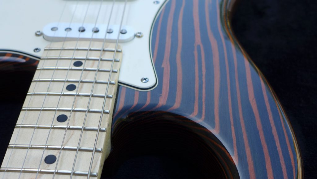 stratocaster-fgh guitar-luthier Ariège