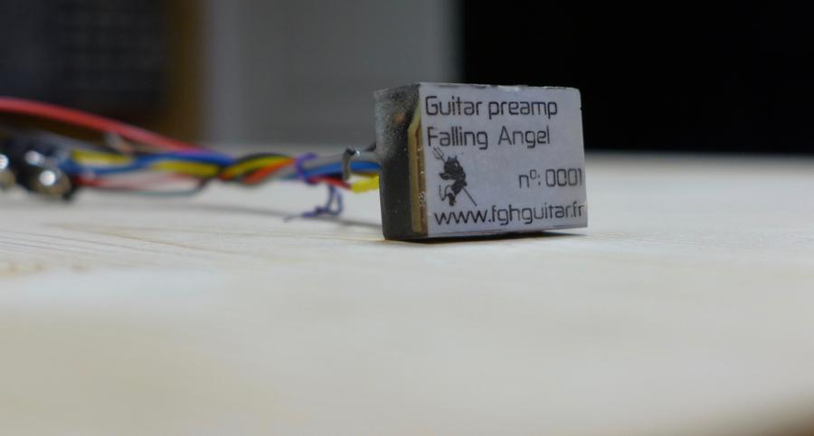 Préamplificateur guitare, circuit discret.